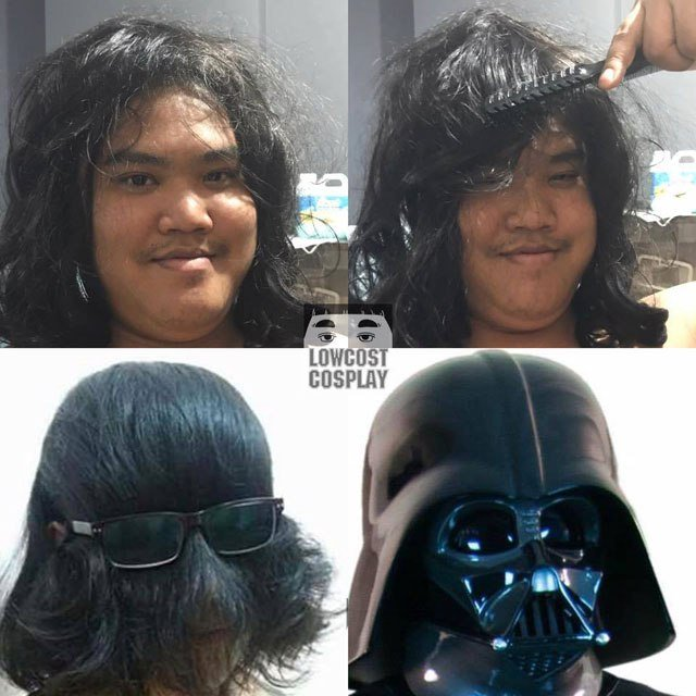 Low-Cost Cosplay Vader