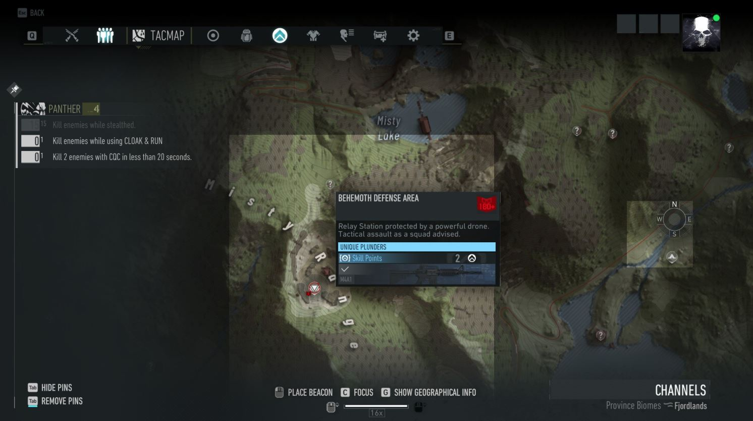 Where to find the M4A1 blueprint in Ghost Recon Breakpoint