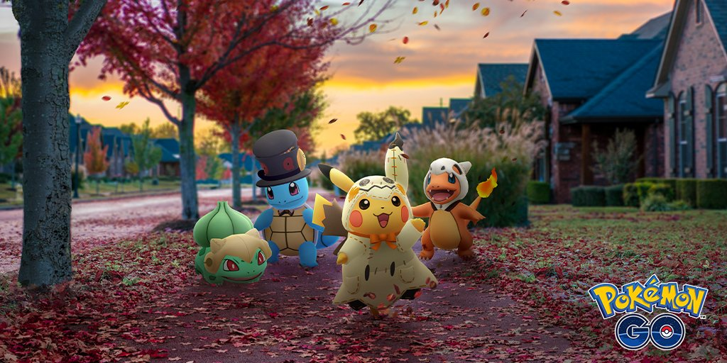 Halloween event details for Pokemon GO revealed