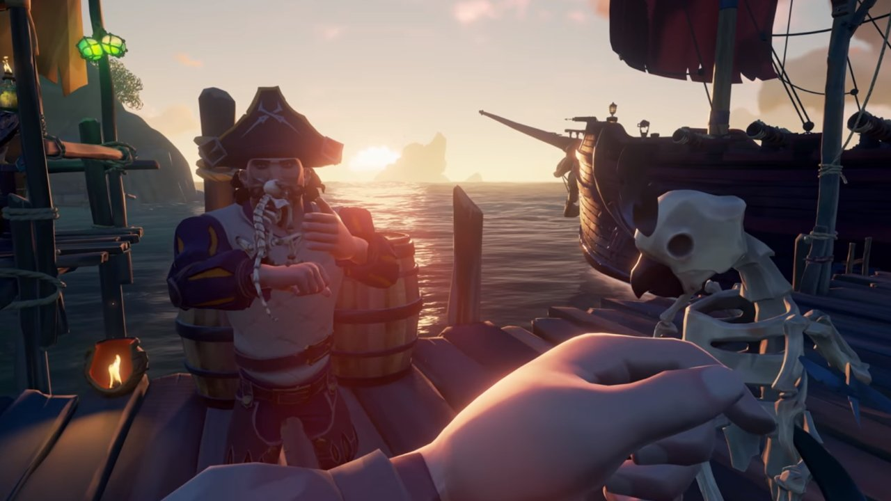 Sea of Thieves Fort of the Damned update