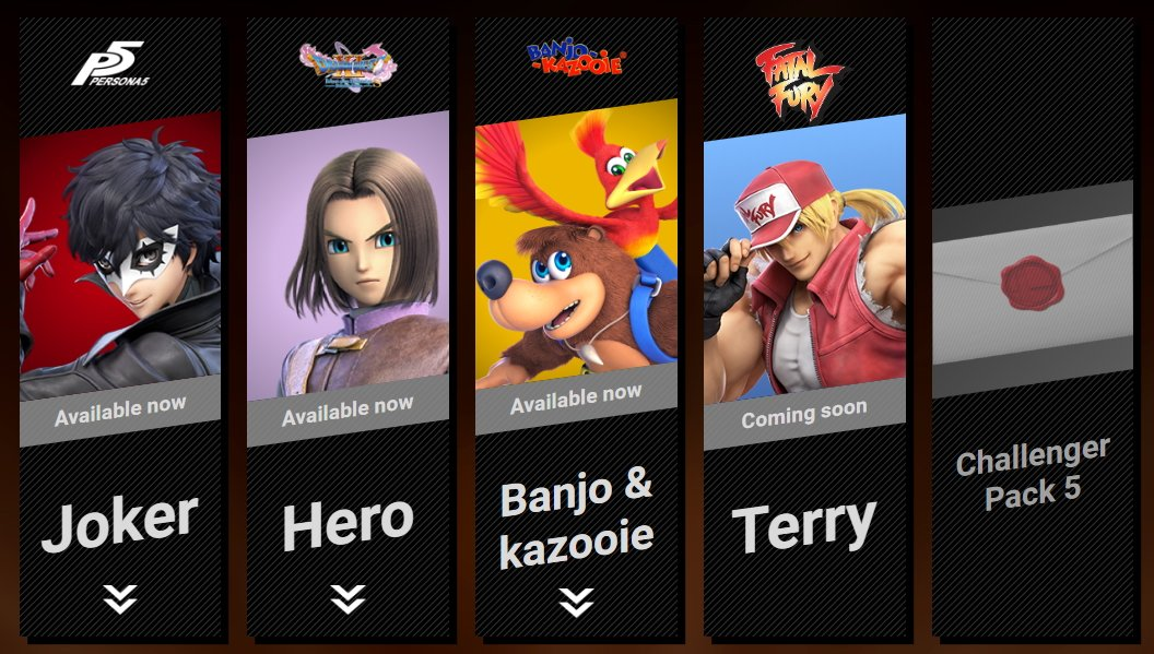 Terry Bogard release date leaked Smash Ultimate