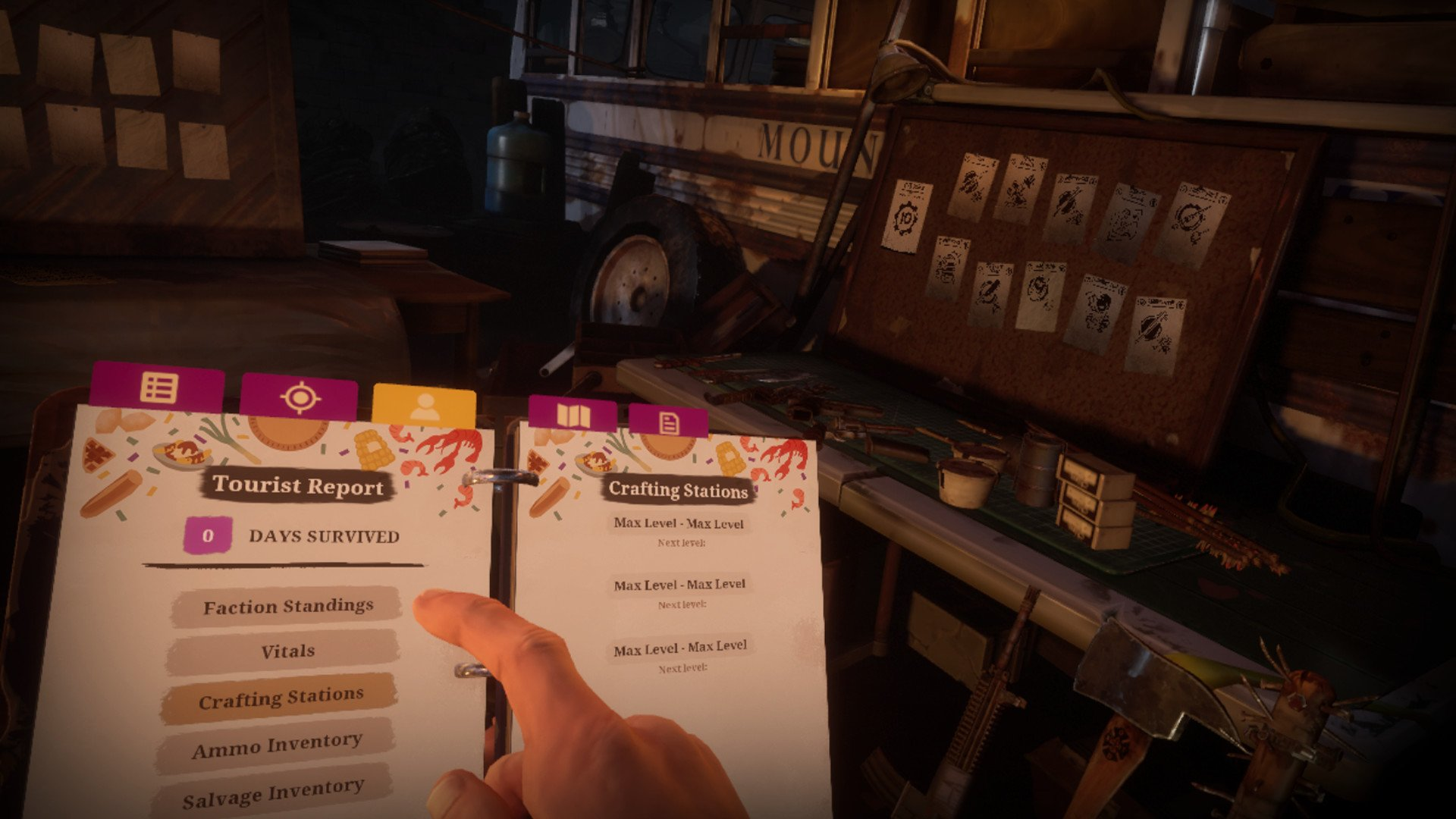 The Walking Dead: Saints & Sinners has a surprisingly detailed crafting system.