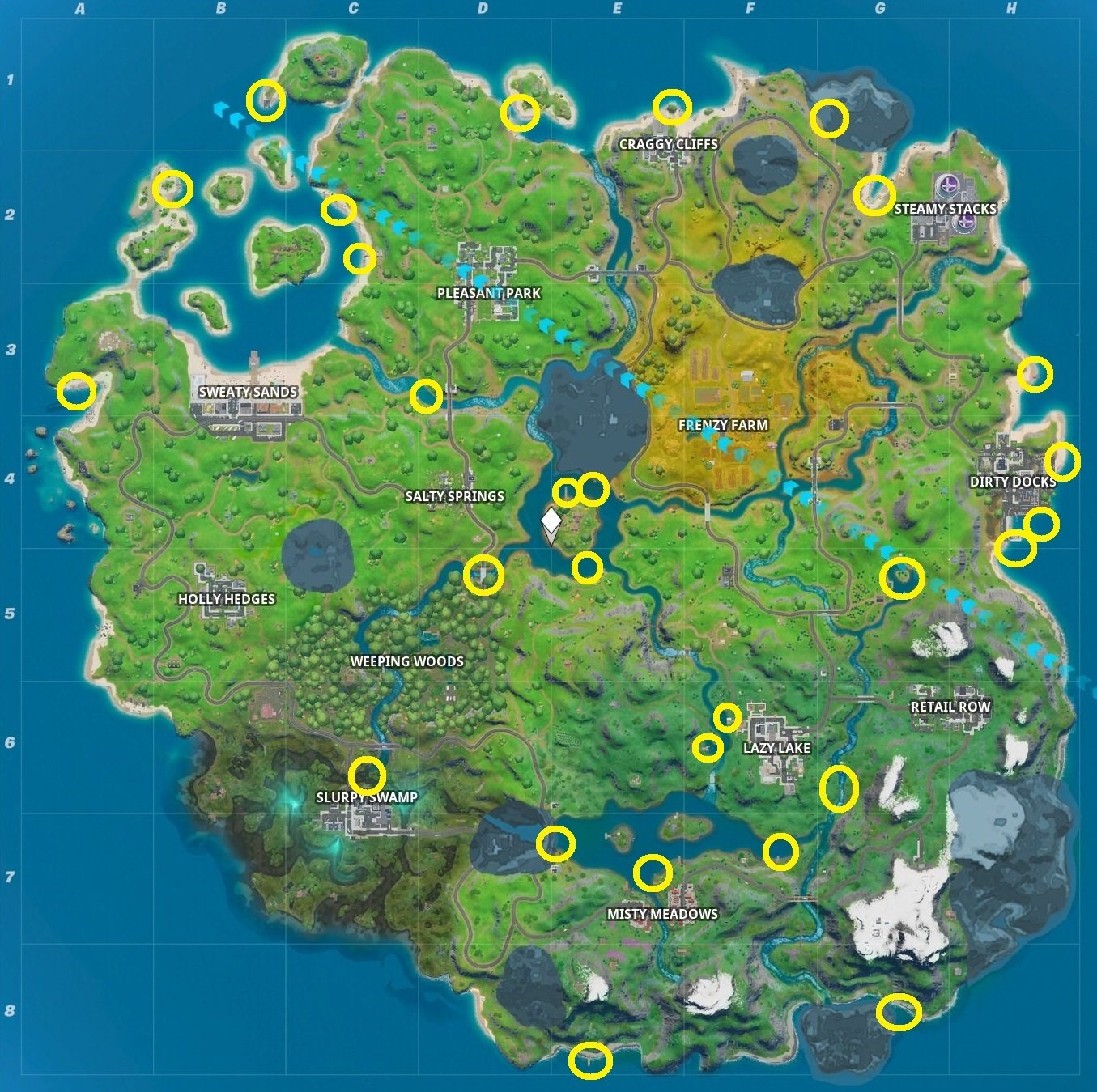 Where to find boats in Fortnite Chapter 2