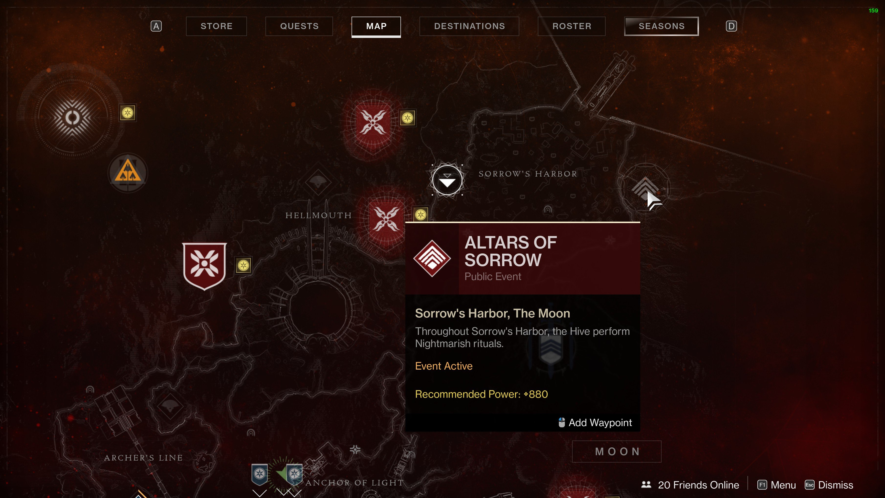 Where to find the Pit of Heresy dungeon in Destiny 2 Shadowkeep: First complete this public event.