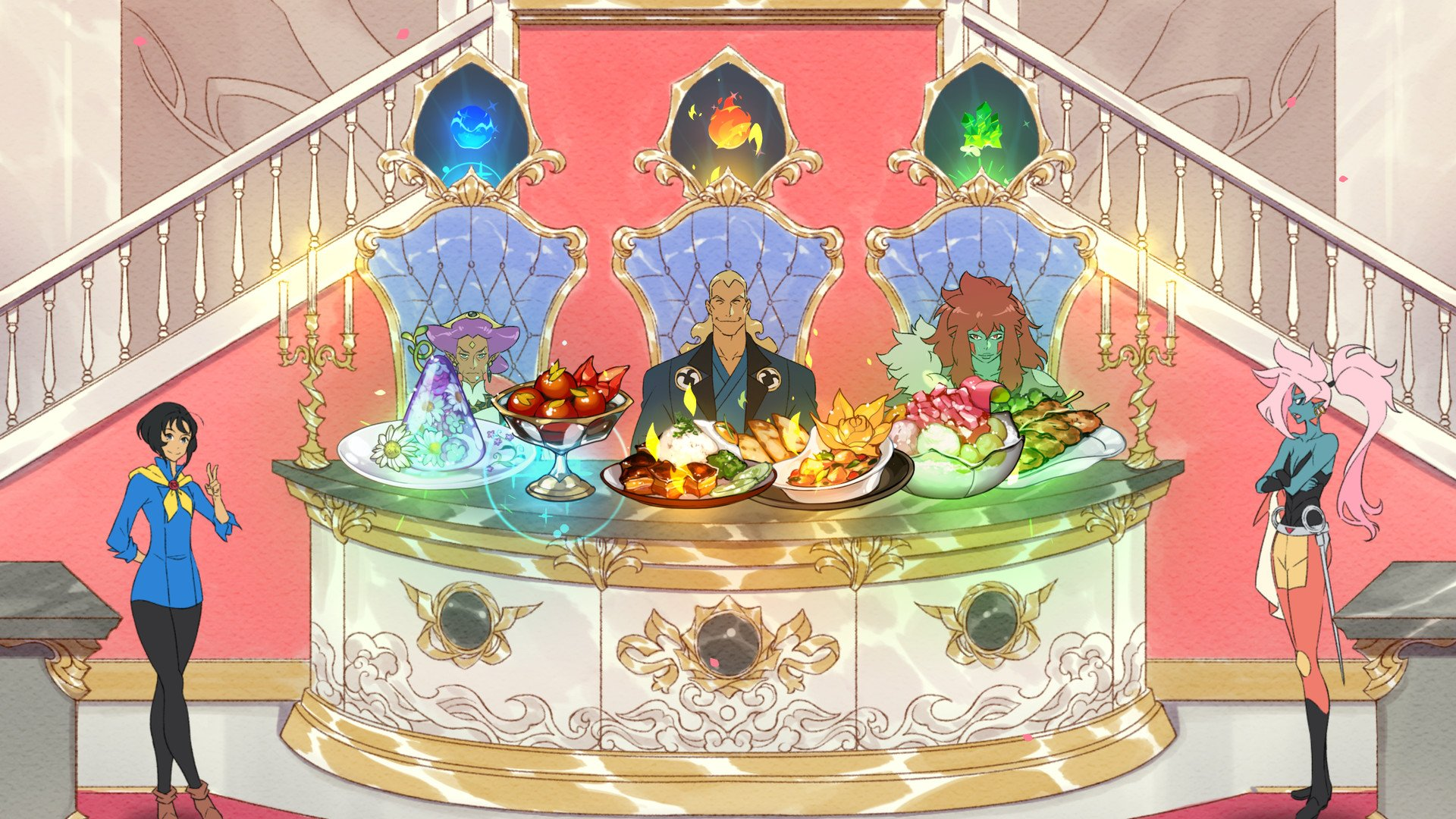 Battle Chef Brigade lets you harvest ingredients from monster battles.