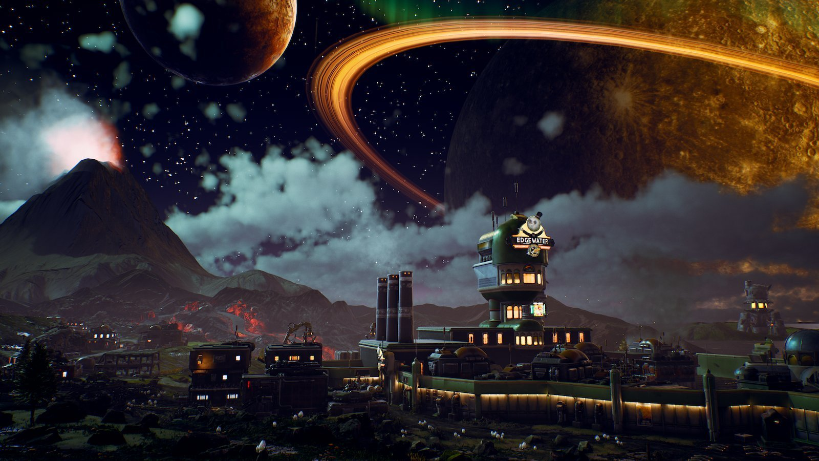 Can you explore locked planets in The Outer Worlds?