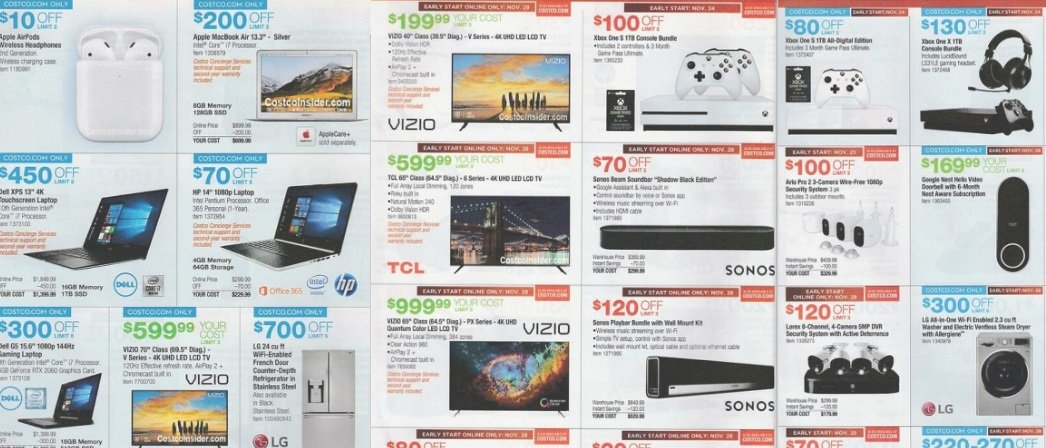 Costco Black Friday 2019 ad includes hot tech deals