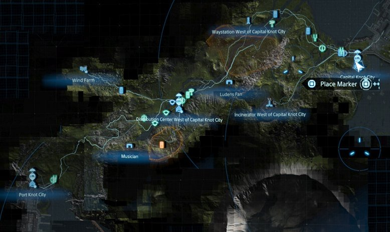 Death Stranding Cameos east region