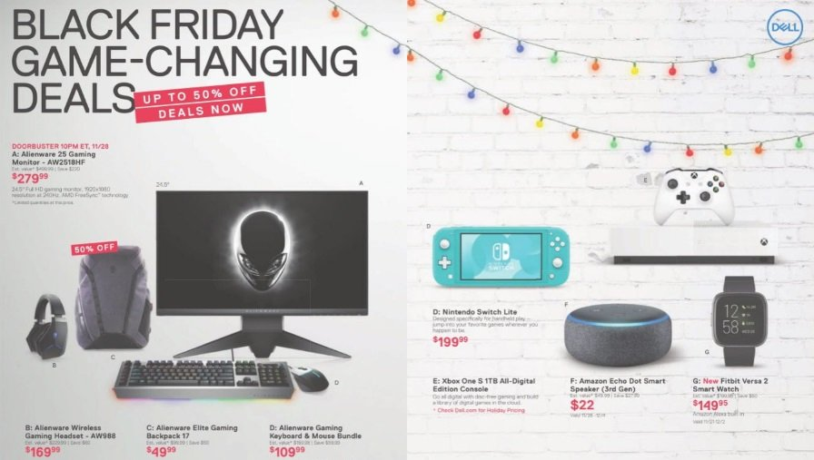 Dell Black Friday 2019 ad is full of PC gaming deals