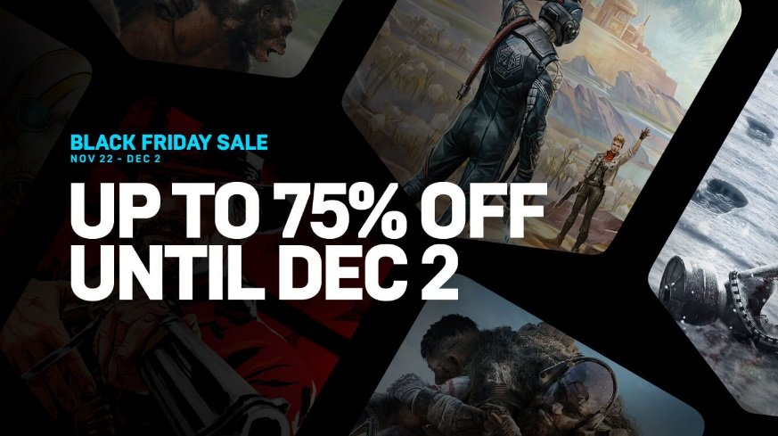 All Black Friday 2019 deals on the Epic Games Store.
