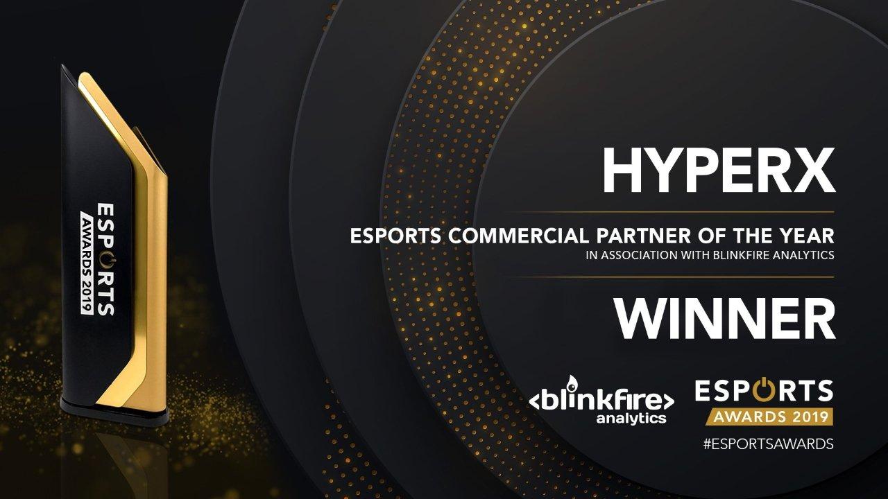Esports Awards 2019 winners