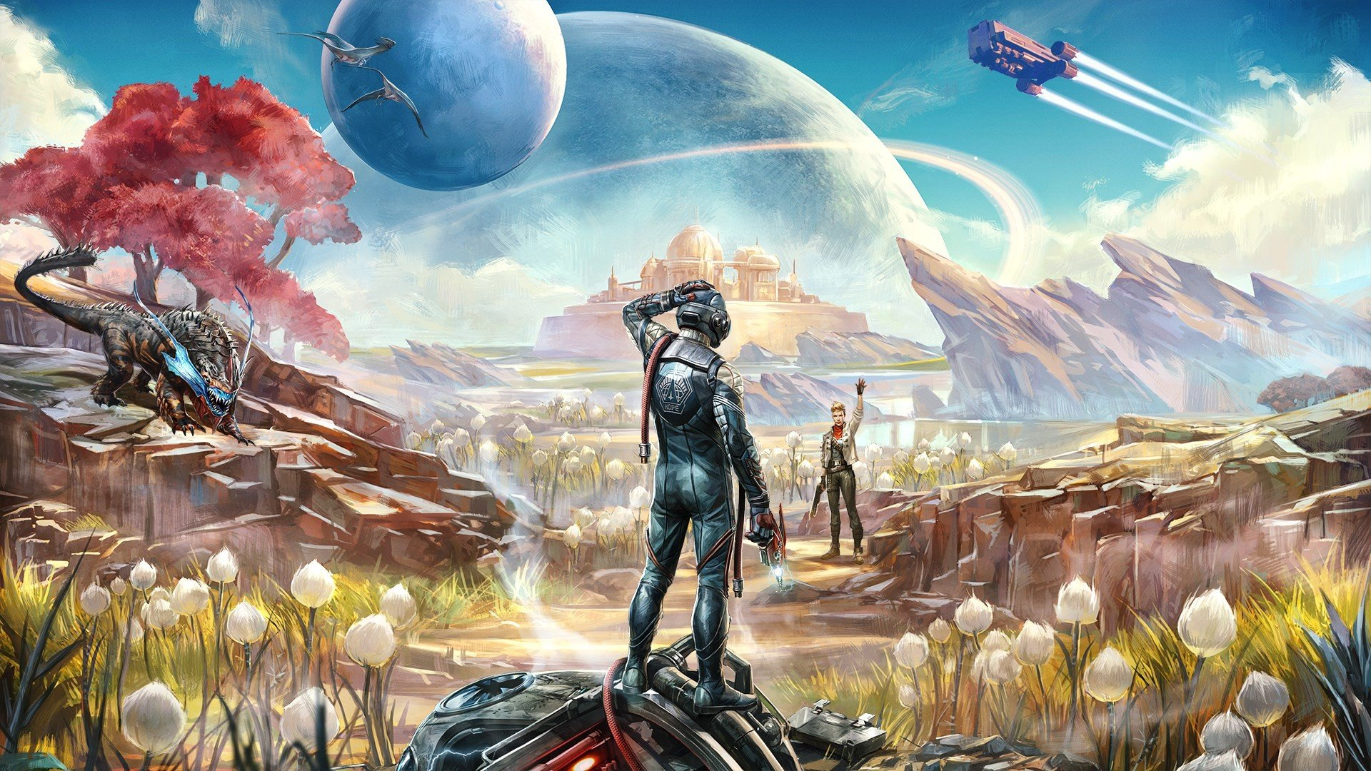 Who to give the Module to in The Outer Worlds