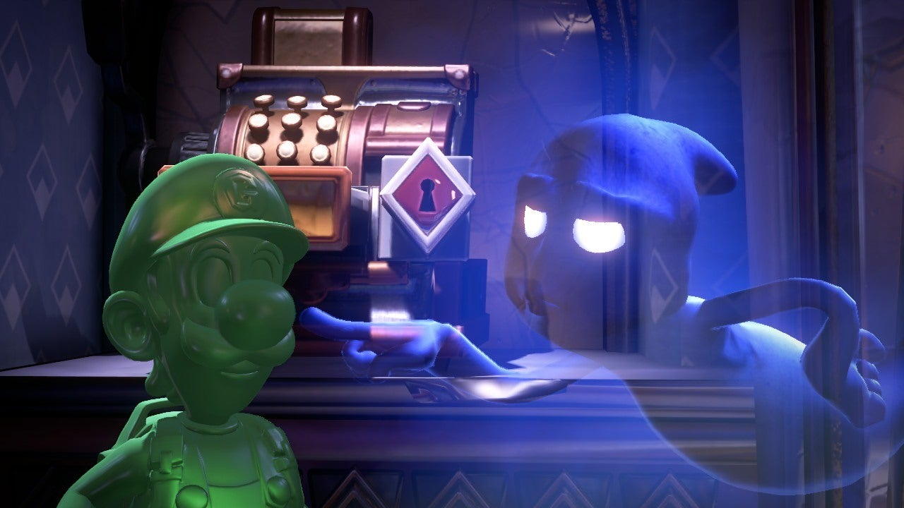 Where is Gooigi in Luigi's Mansion 3
