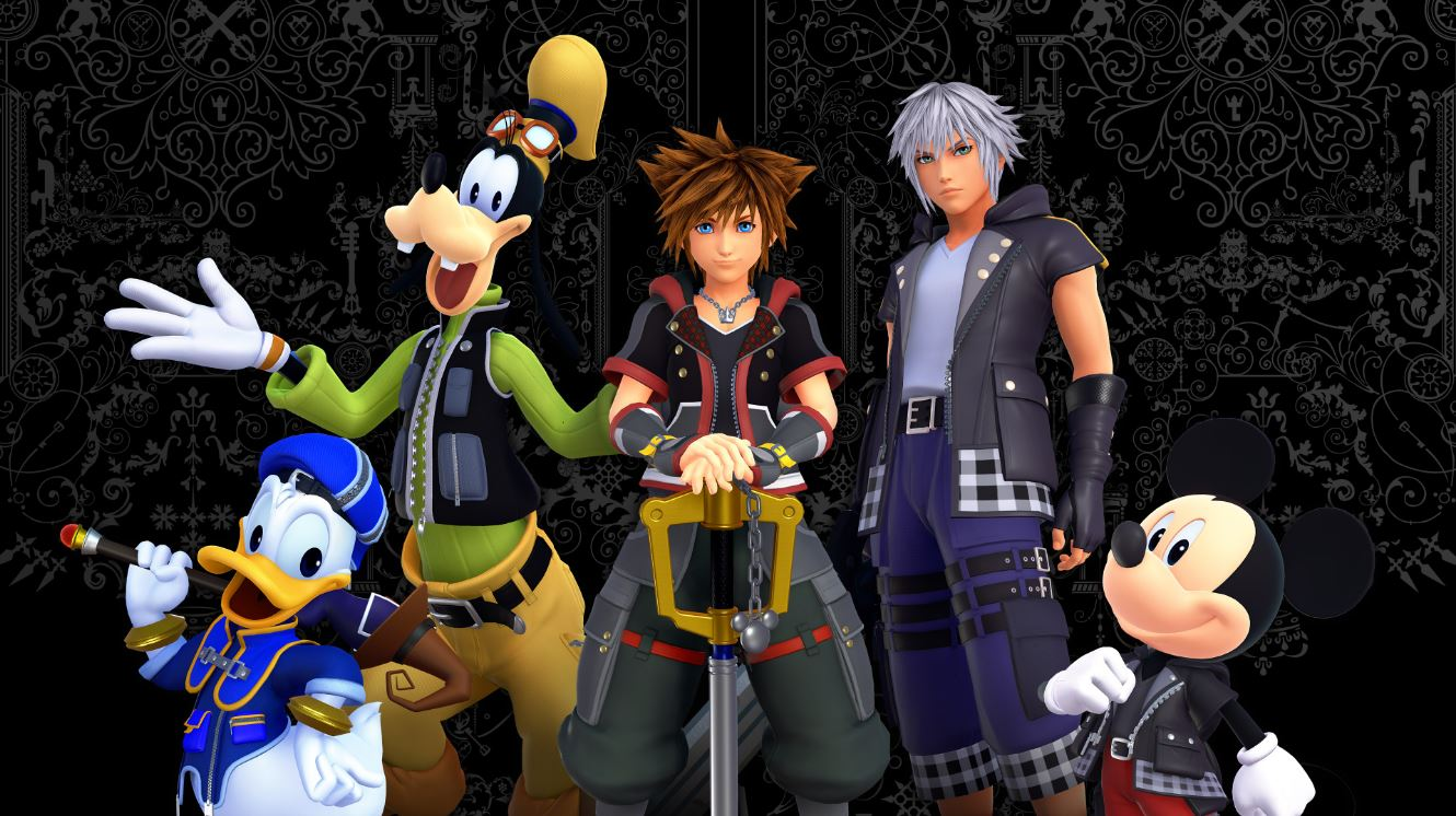 The Kingdom Hearts franchise lets you explore a magical world full of your favorite Disney characters.