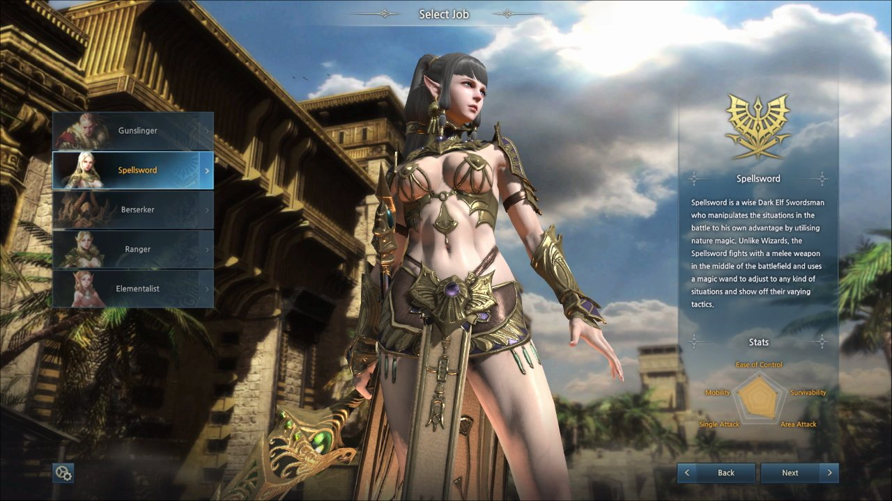 Kingdom Under Fire 2 Preview Spellsword outfit