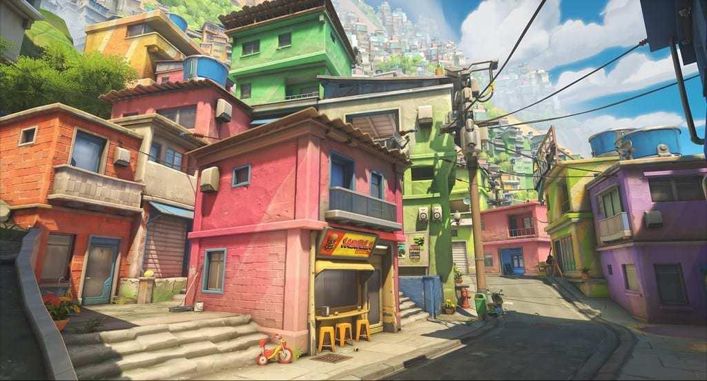Overwatch 2 new maps Rio de Janeiro