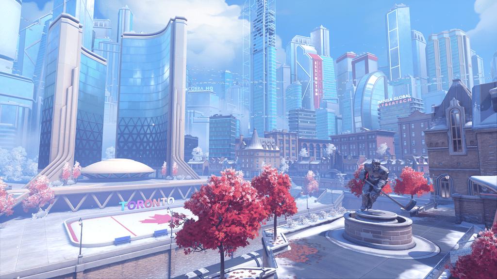 Overwatch 2 new maps Toronto Push