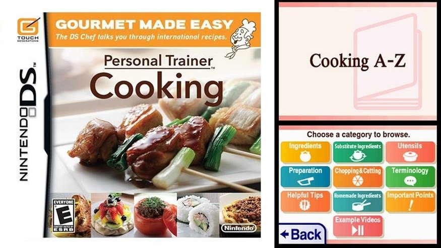 Personal Trainer: Cooking offered real-life recipes to help you learn how to make tasty meals.