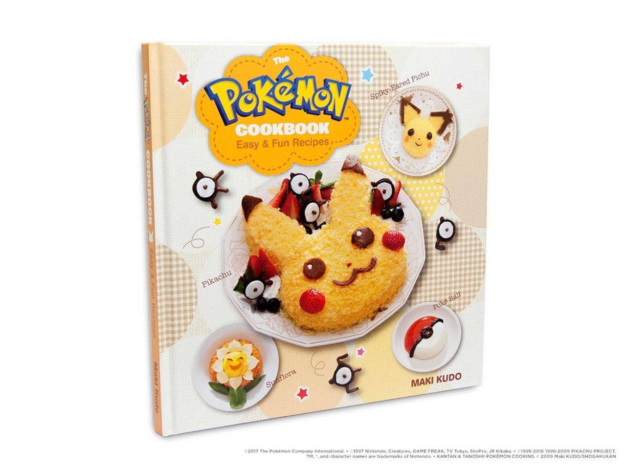 The Pokemon Cookbook - video game cookbook gifts 2020