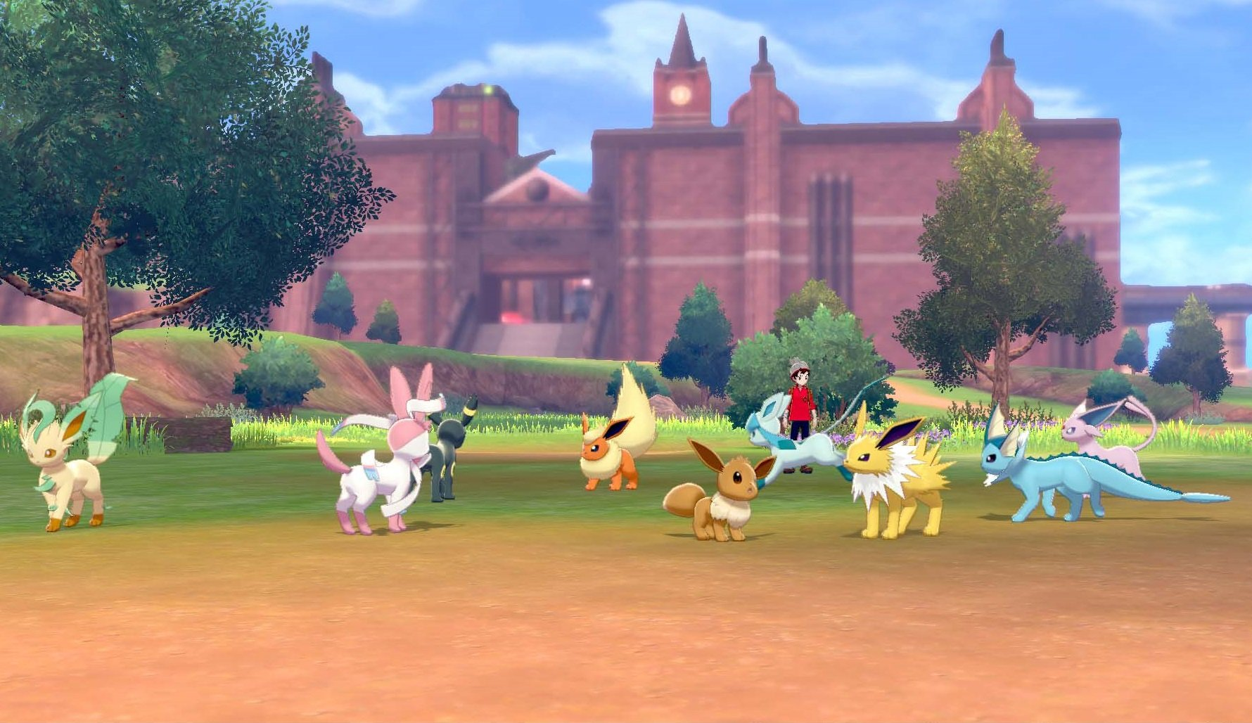 How to get all Eevee evolutions in Pokemon Sword and Shield.