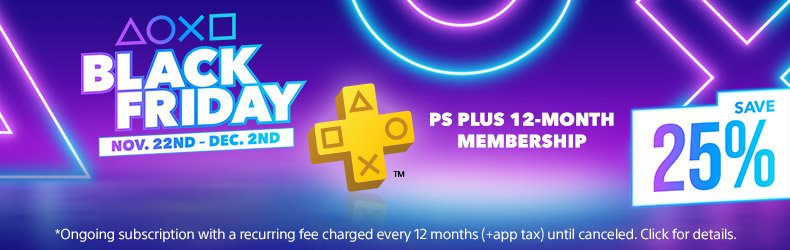 The best PS Plus membership deals for Black Friday 2019