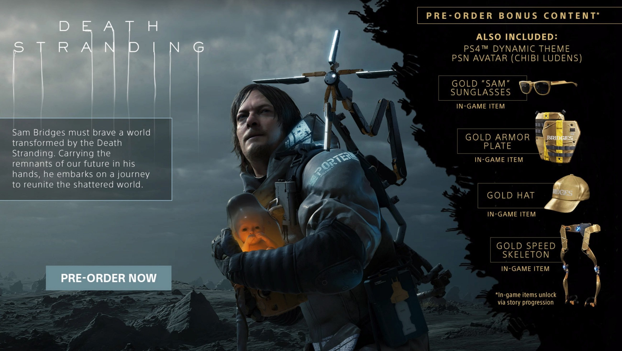 How to redeem preorder DLC in Death Stranding