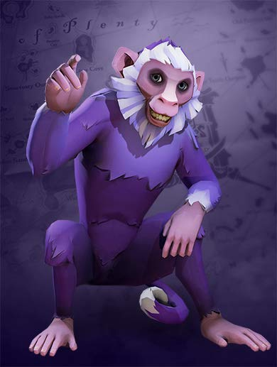 Sea of Thieves Twitch Prime monkey pet promotion