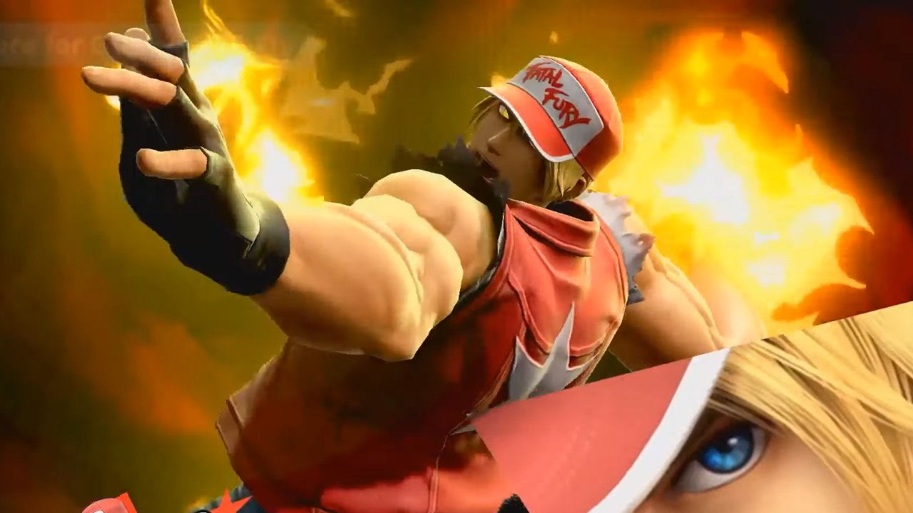 Terry Bogard Final Smash Triple Geyser Smash Ultimate