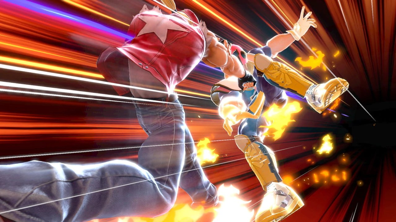 Smash Ultimate version 6.1 patch notes terry bogard ice climbers freeze glitch