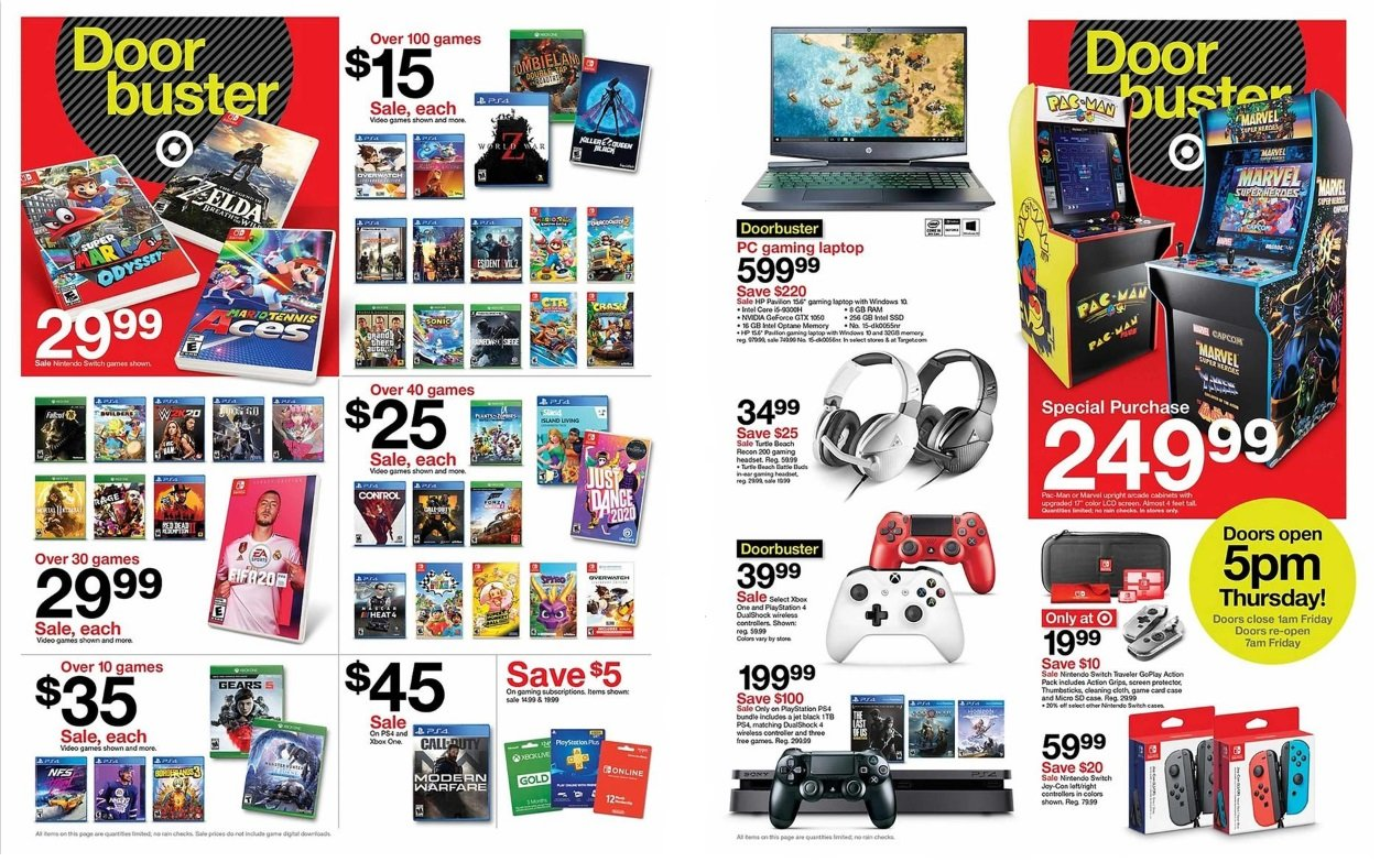 Target drops Black Friday 2019 ad