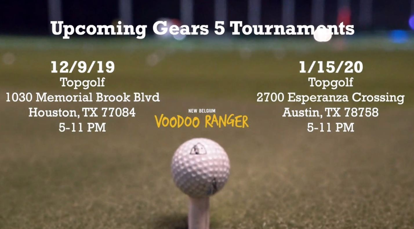 Austin Topgolf hosting Gears 5 tournament