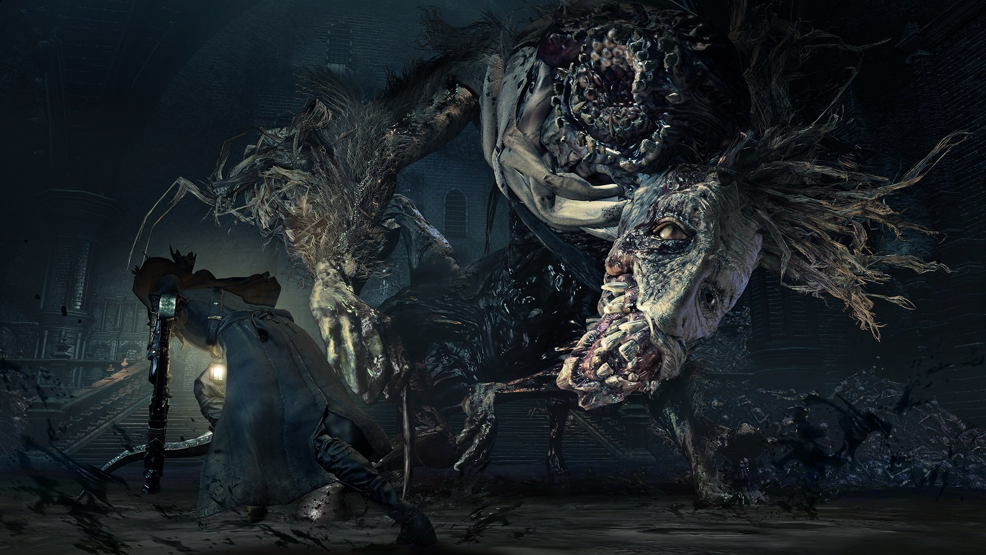 Bloodborne is one of the greatest gothic horror games ever made.