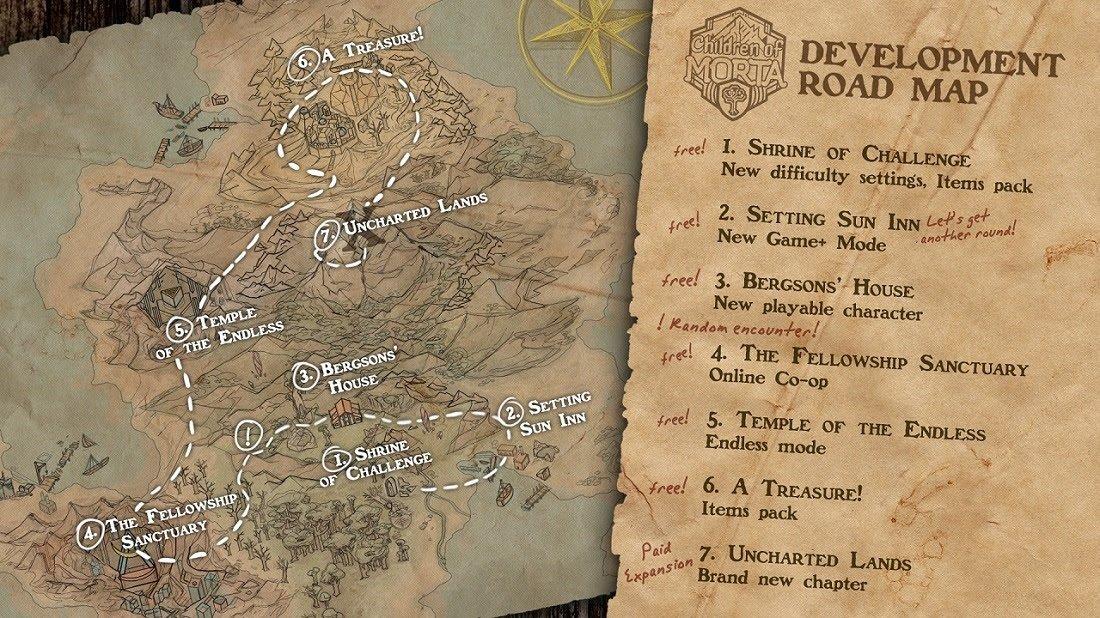 Children of Morta content roadmap revealed