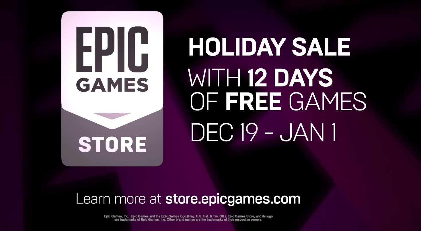 Epic Games giving away 12 free games