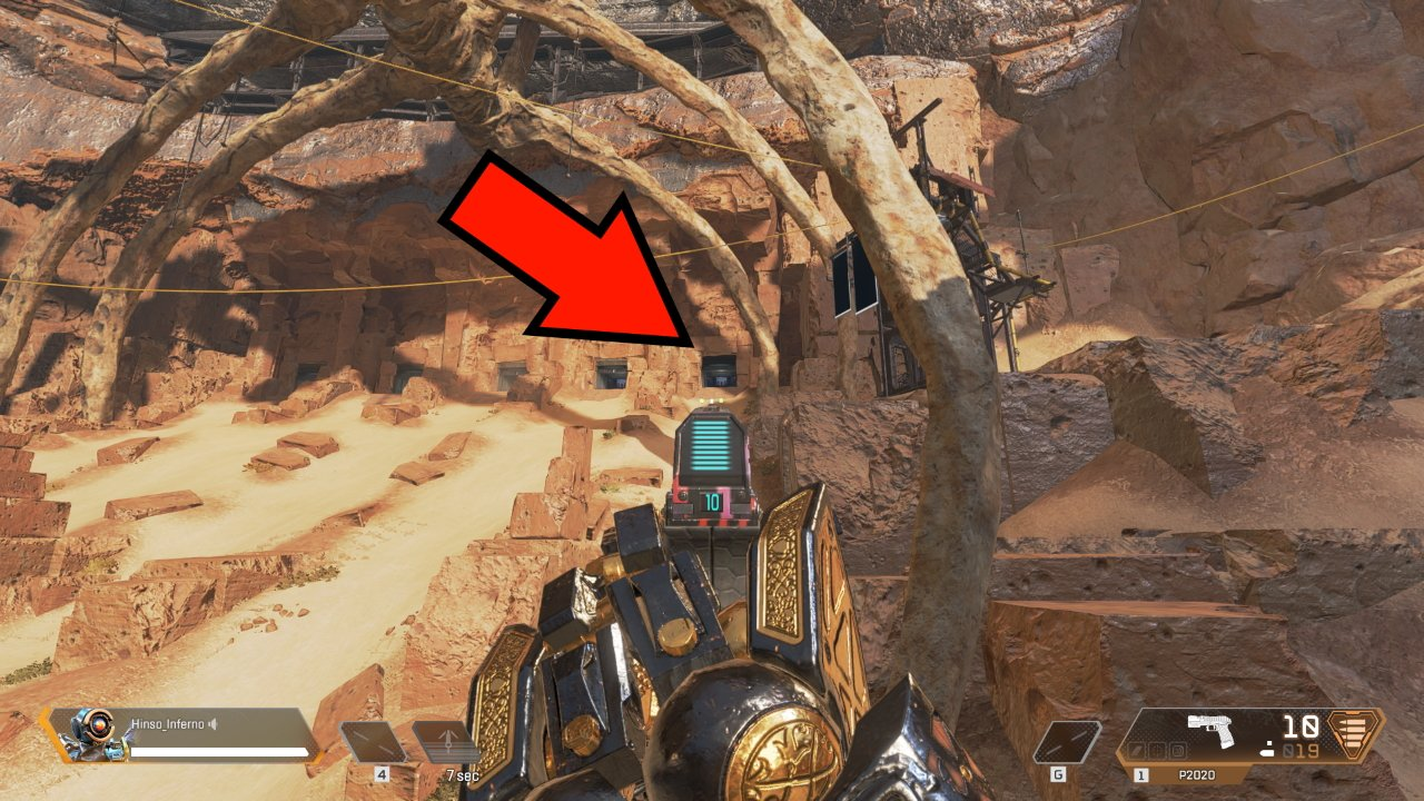 How to activate the firing range easter egg in Apex Legends