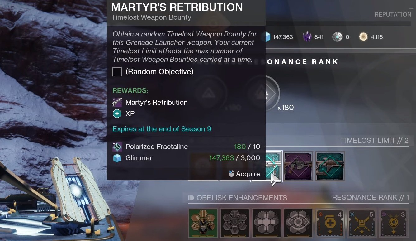 How to get the Martyr's Retribution in Destiny 2