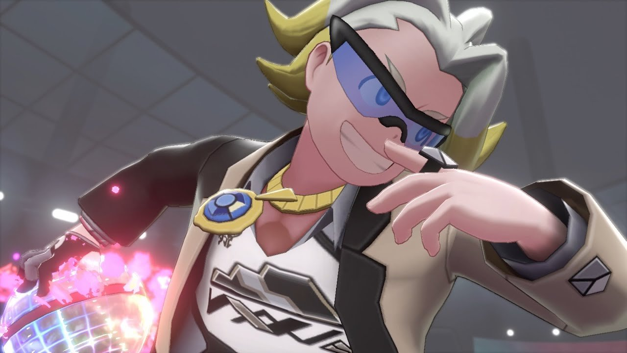 If you bought a copy of Pokemon Sword, the sixth Gym Leader you'll encounter is Gordie who uses Rock-type Pokemon.