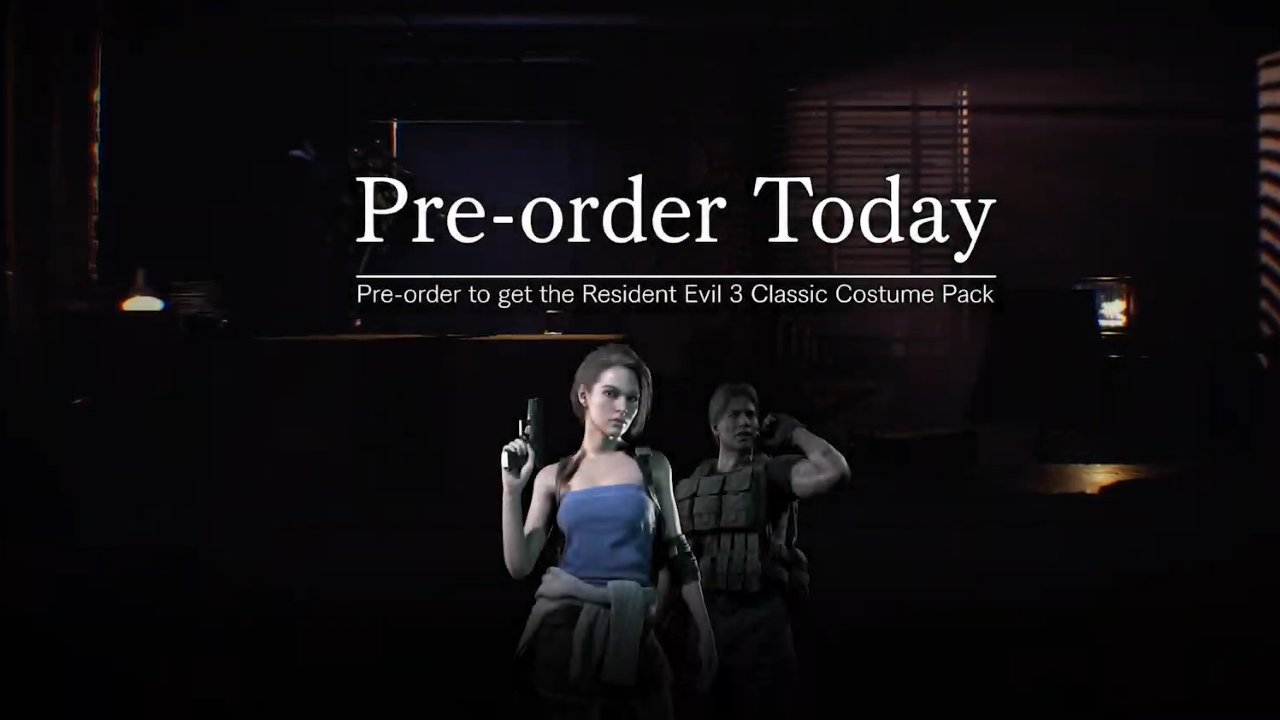 Resident Evil 3 release date project resistance preorder bonus