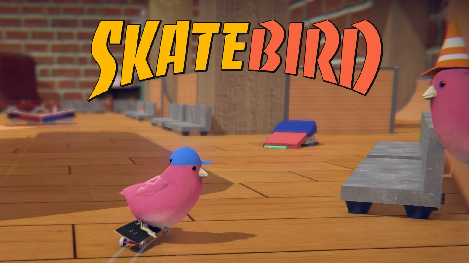 Get ready for SkateBIRD on Nintendo Switch in 2020