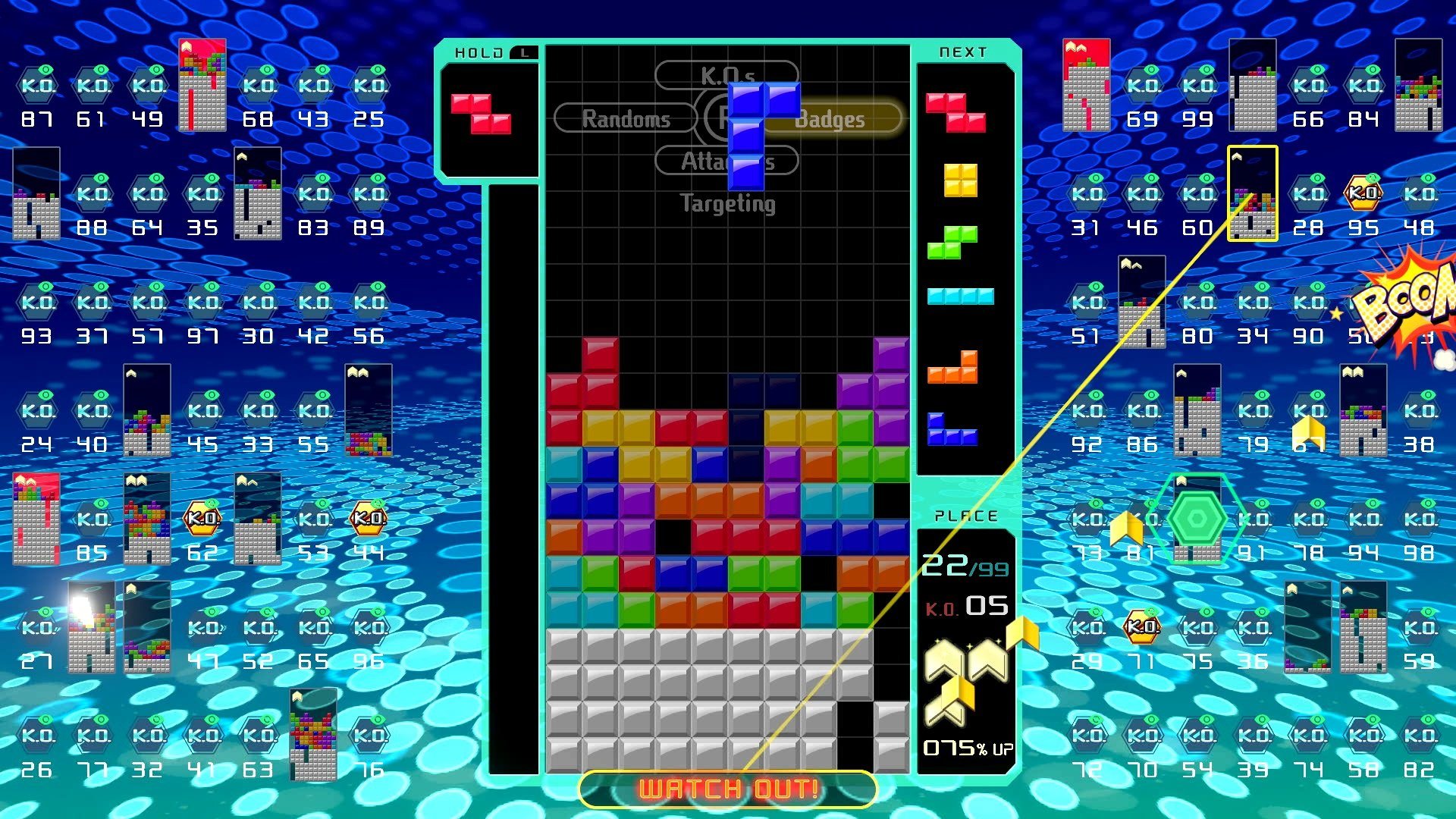 Tetris 99 is not only a great multiplayer game, it's also a unique entry to the Battle Royale genre.