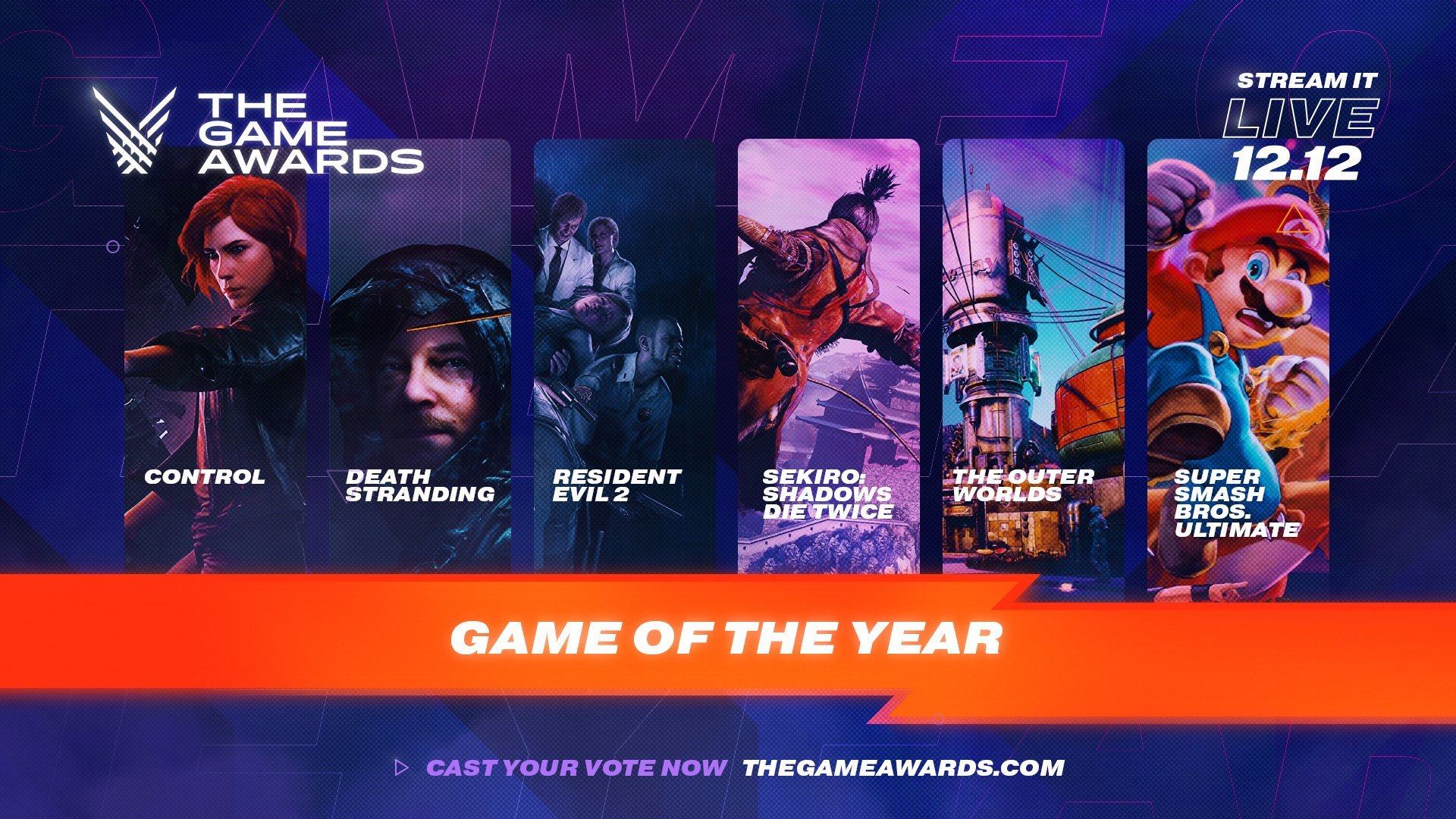 10 new projects to be revealed at The Game Awards