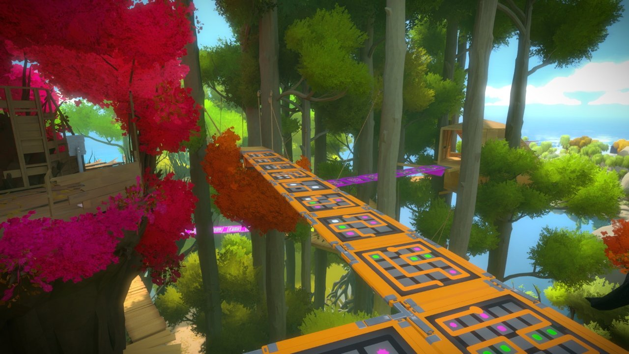 Greatest puzzle games of the decade - The Witness