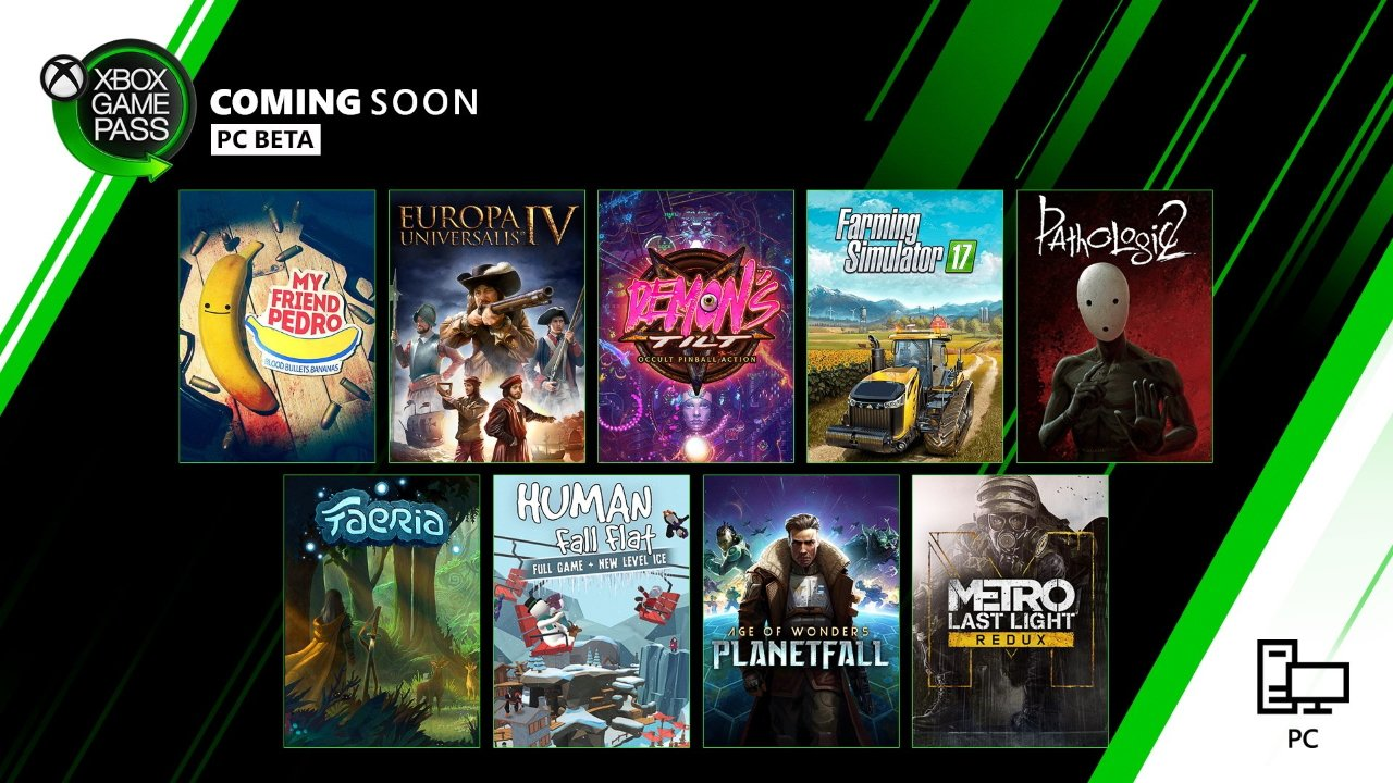 Xbox Game Pass December PC