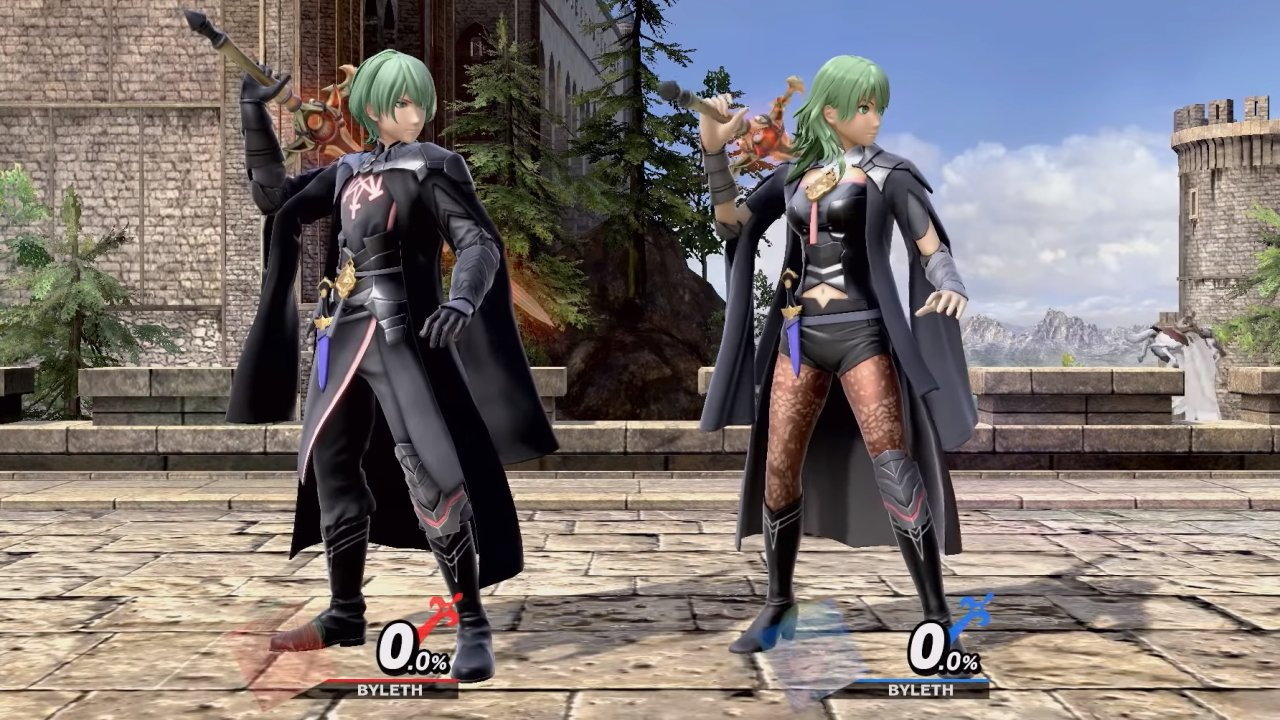 All byleth colors in smash ultimate