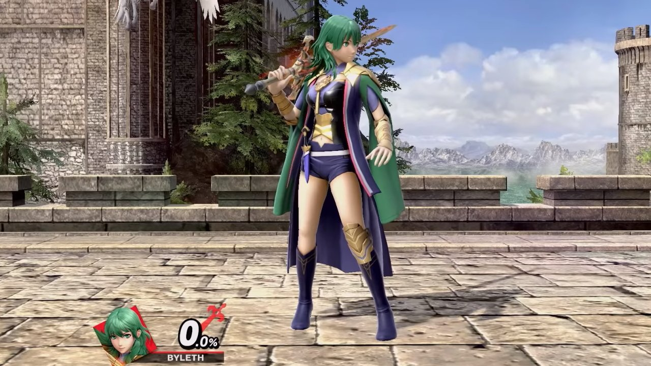 All Byleth costumes in smash Ultimate