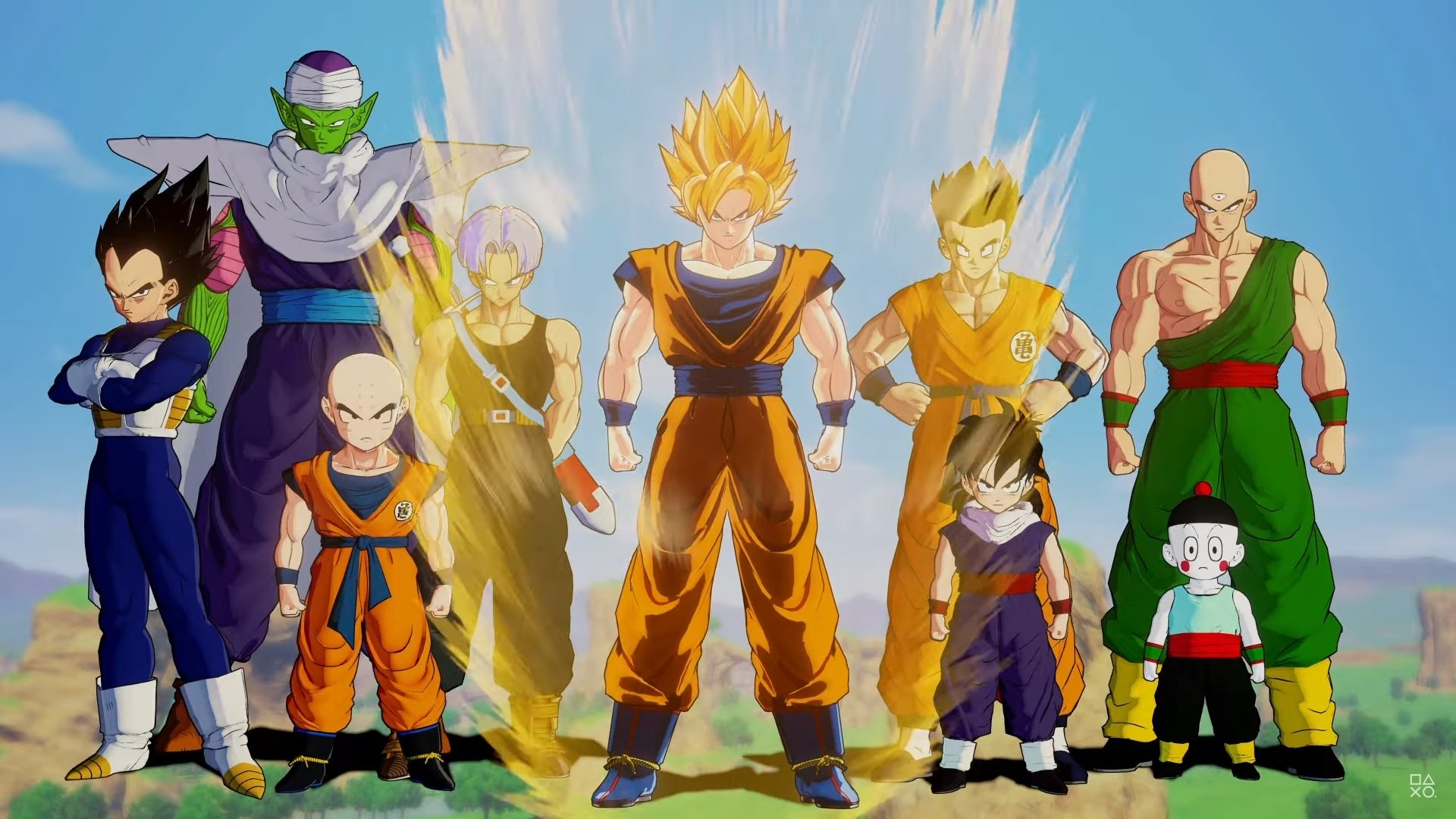All playable characters in Dragon Ball Z: Kakarot