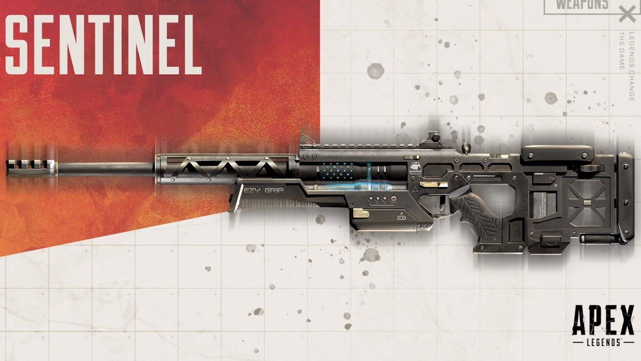 Sentinel Sniper Rifle Apex Legends Season 4