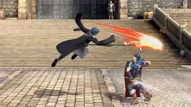 Byleth Aerial Attacks Smash Ultimate