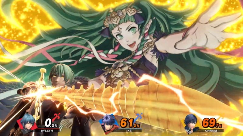 Byleth Final Smash Progenitor God Ruptured Heaven Smash Ultimate