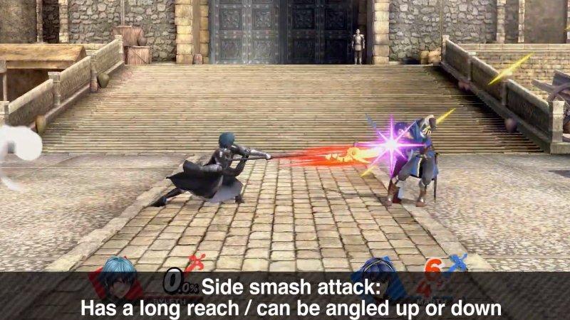 Byleth Smash Attacks smash Ultimate